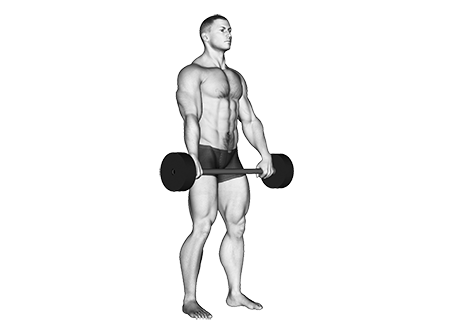 Exercises That Use a Fixed Weight Barbell